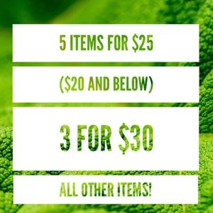 Accessories - NOW- ALL ITEMS 5/$25 & 3/$30!!!!